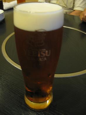 エビスビール琥珀