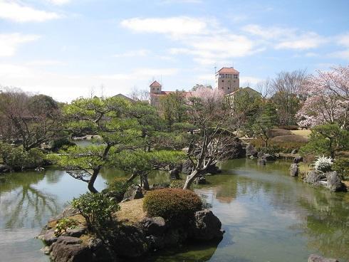 しあわせの村の日本庭園